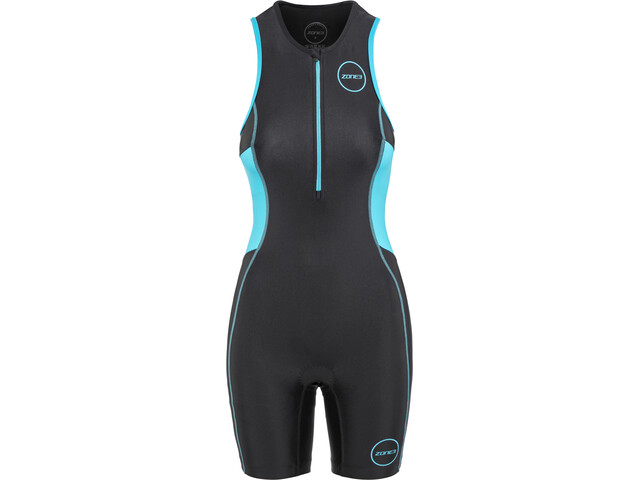 Zone3 Activate Trisuit Dames, black/turquoise